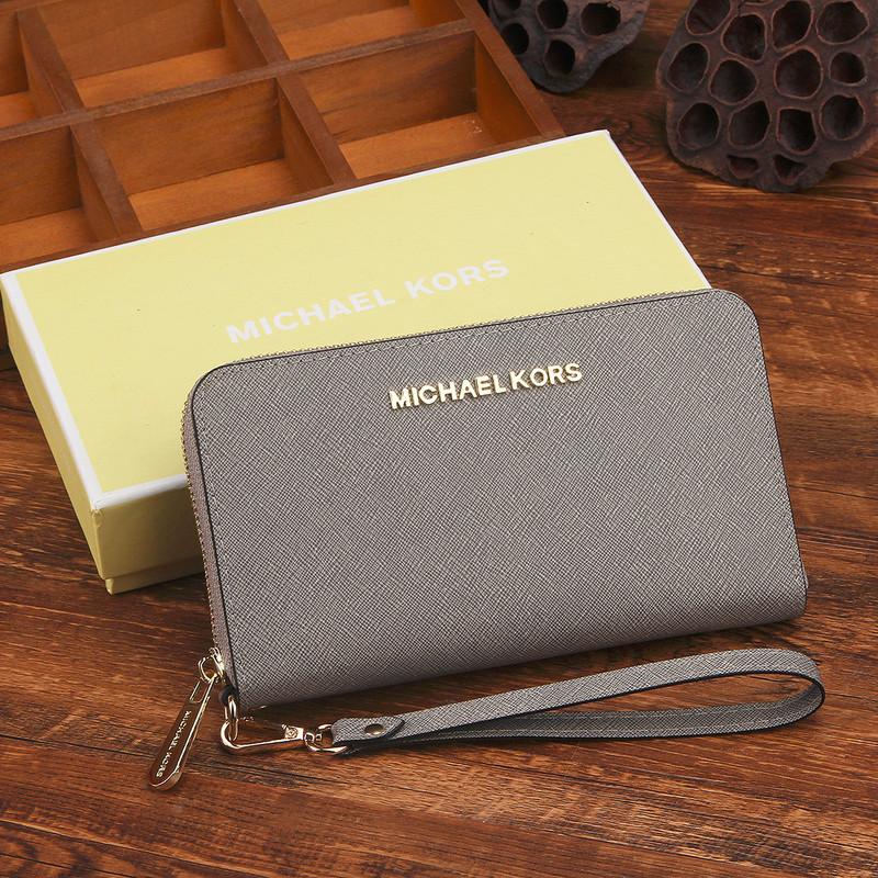 62bdd56ac2d8 mk genuine leather wallet Red -
